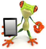 Frog. Cute little frog, 3D generated picture Royalty Free Stock Image