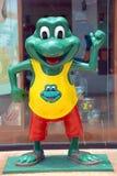 Frog先生的标志 免版税库存图片