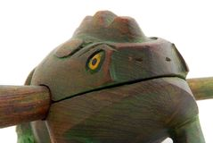 Frog, African art Royalty Free Stock Photography
