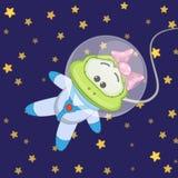 Frog astronaut Stock Photography