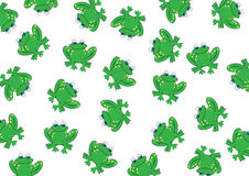 Frog background Stock Photo