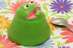 Frog cake Royalty Free Stock Photography