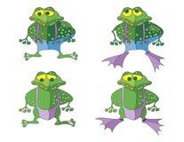 Frog cartoon Royalty Free Stock Photography