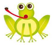 Frog cartoon Stock Photos