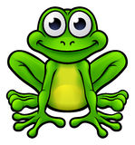Frog Cartoon Character Royalty Free Stock Images