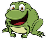 Frog cartoon Stock Images