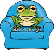 Frog chair Stock Image