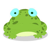 Frog so cute Royalty Free Stock Image