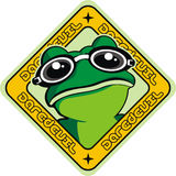 Frog design Stock Photography