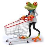 Frog doctor Stock Photo
