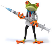 Frog doctor Royalty Free Stock Photography