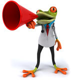 Frog doctor Stock Photo