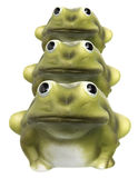 Frog Figurines Stock Image