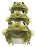 Frog Figurines Stock Image