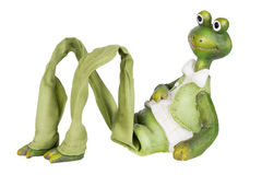 Frog -  gentleman with a  long legs Stock Photo