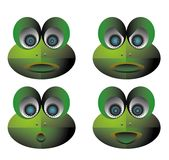 Frog icon. Vector illustration for a set icon of emotion robot frog Royalty Free Stock Photos