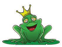 Frog King Royalty Free Stock Photo