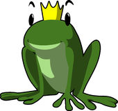 Frog King, Fairytale, Frog, Tale Royalty Free Stock Photo