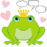 Frog Prince Royalty Free Stock Photography