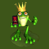 Frog Prince 2 Royalty Free Stock Photography