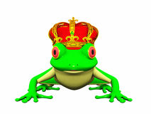 Frog prince Royalty Free Stock Photos