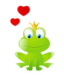 Frog prince Royalty Free Stock Images