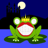 The frog prince Stock Images