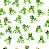Frog prince or princess Stock Photos