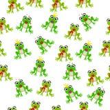 Frog prince or princess Stock Images
