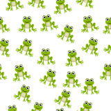 Frog prince or princess. Very high quality original trendy vector seamless pattern with frog prince or princess Royalty Free Stock Photo