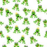 Frog prince or princess stock illustration