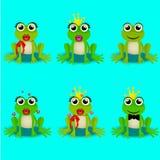 Frog prince or princess Royalty Free Stock Photography