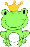 Frog Prince Vector. Frog Prince king Vector Illustration Stock Photos