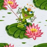 Frog princess Stock Photos