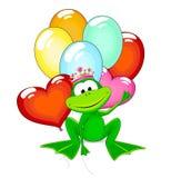 Frog  princess Royalty Free Stock Photography