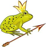 The Frog Princess Stock Image