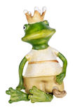 Frog -  princess with a gold crown Stock Photography