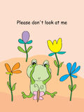 Frog shame Stock Photos