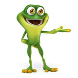Frog show up Stock Photos