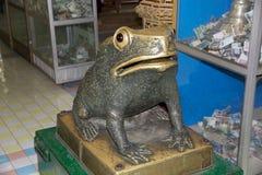 Frog at the Sone Oo Pone Nya Shin Pagoda, Myanmar Stock Images