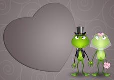 Frog spouses Stock Photo
