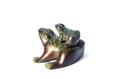 Frog statue Royalty Free Stock Photo
