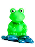 Frog toy Stock Photography