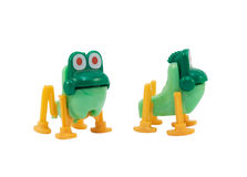 Frog toy. Stock Photos