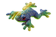 Frog toy Stock Images