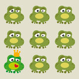 Frog (vector) Royalty Free Stock Photos