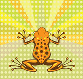 Frog vector Royalty Free Stock Photos