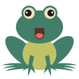 Frog Vector Illustration Royalty Free Stock Images