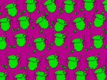 Frog wallpaper Royalty Free Stock Images