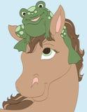 Froggie vän Royaltyfria Bilder